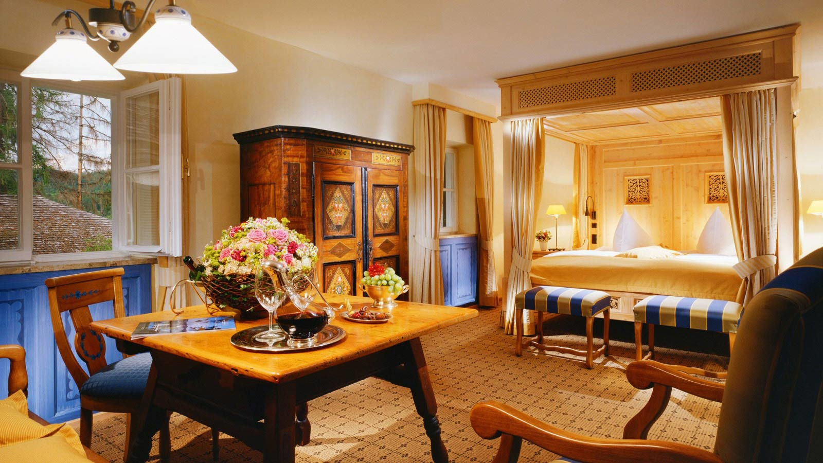 Park suite at the Schloss Fuschl A Luxury Collection Resort & Spa