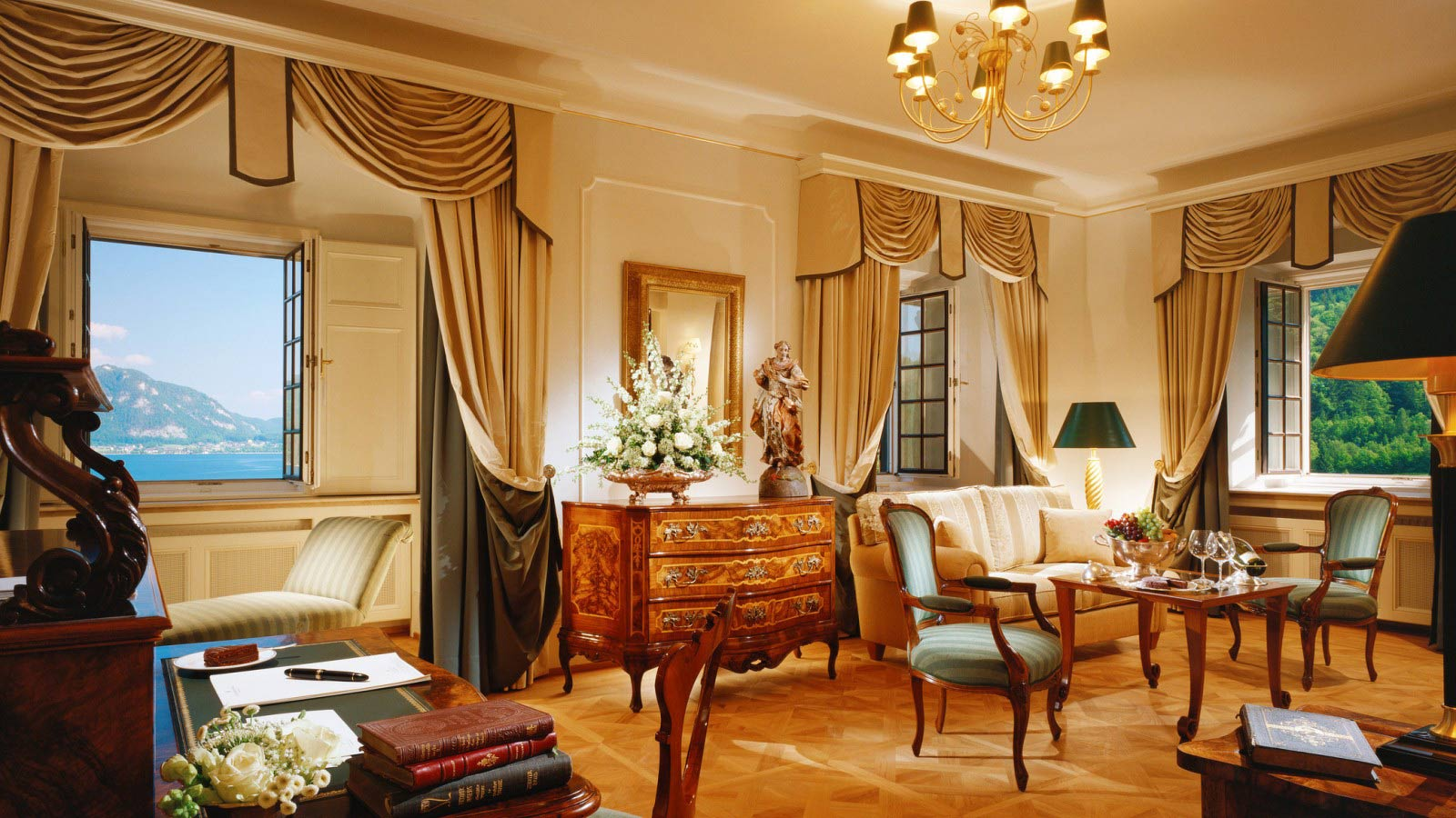 Castle Suite Schloss Fuschl A Luxury Collection Resort & Spa